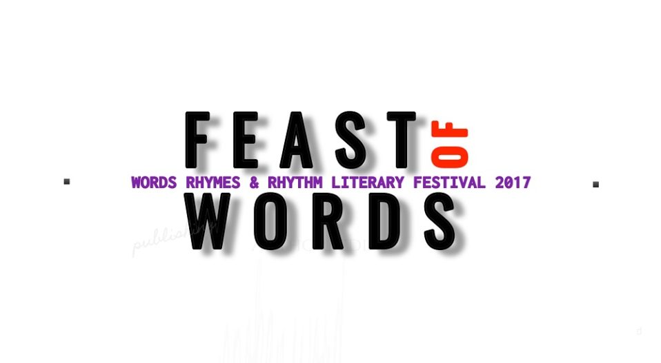 FEAST OF WORDS 2017: SCHEDULE OF EVENTS