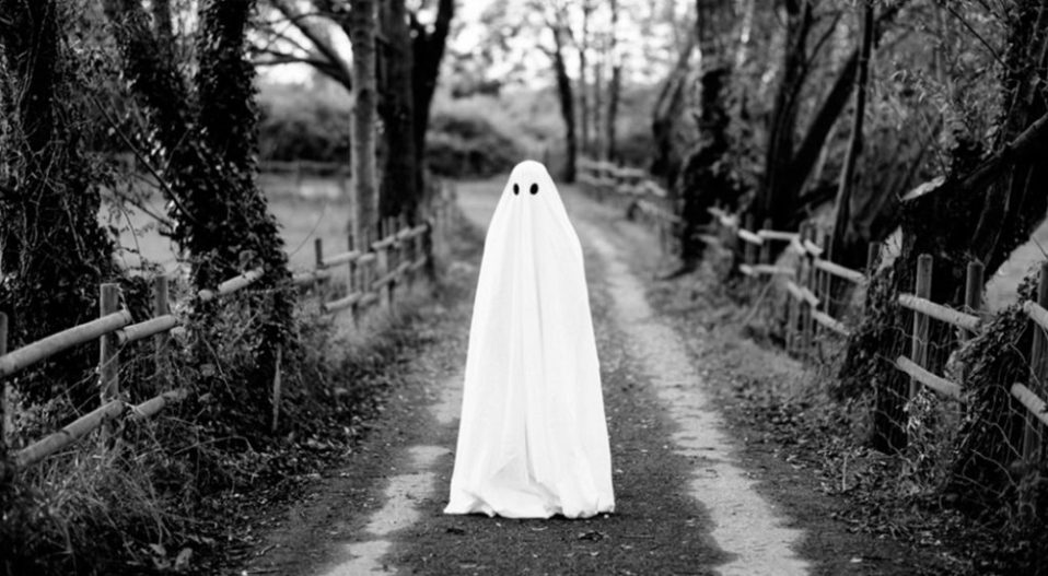 GHOSTS WANDERING ON A SUNNY DAY by David Owoeye