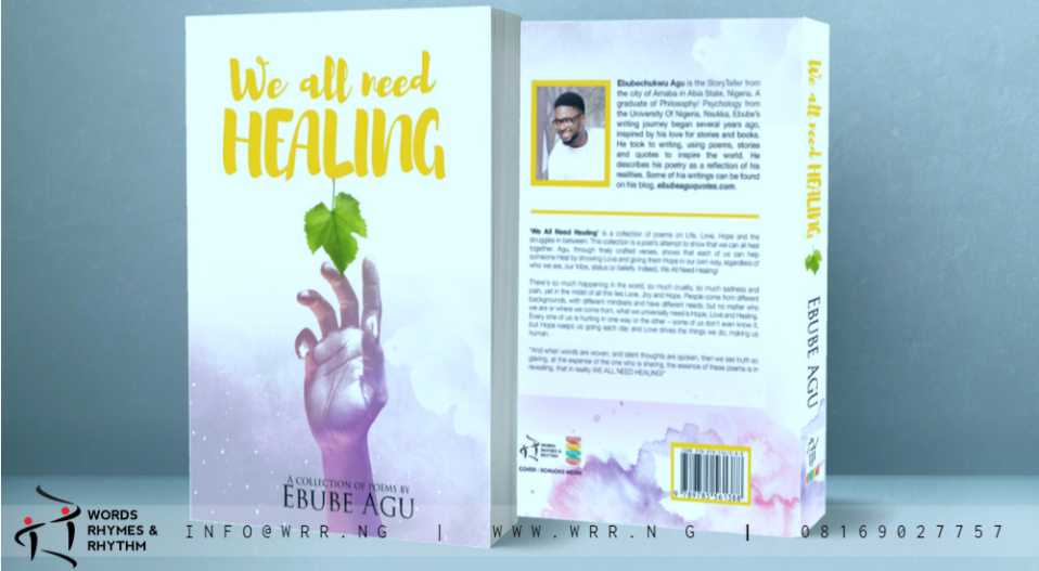 REVIEW: AGU'S 'WE ALL NEED HEALING' IS A GENIAL COLLECTION OF WARM AND EMOTIONAL POEMS