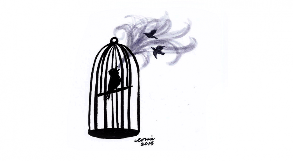 THIS CAGED BIRD SINGS (a poem by Theophilus Femi Alawonde)