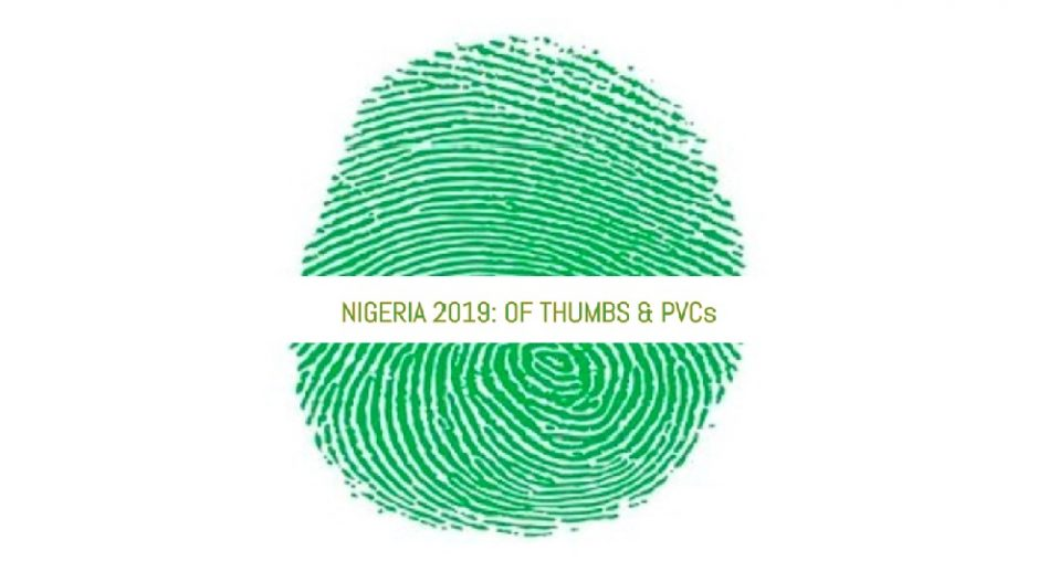 CALL FOR SUBMISSIONS: BRIGITTE POIRSON POETRY CONTEST 2018 [SEPTEMBER] 'NIGERIA 2019: OF THUMBS & PVCs'