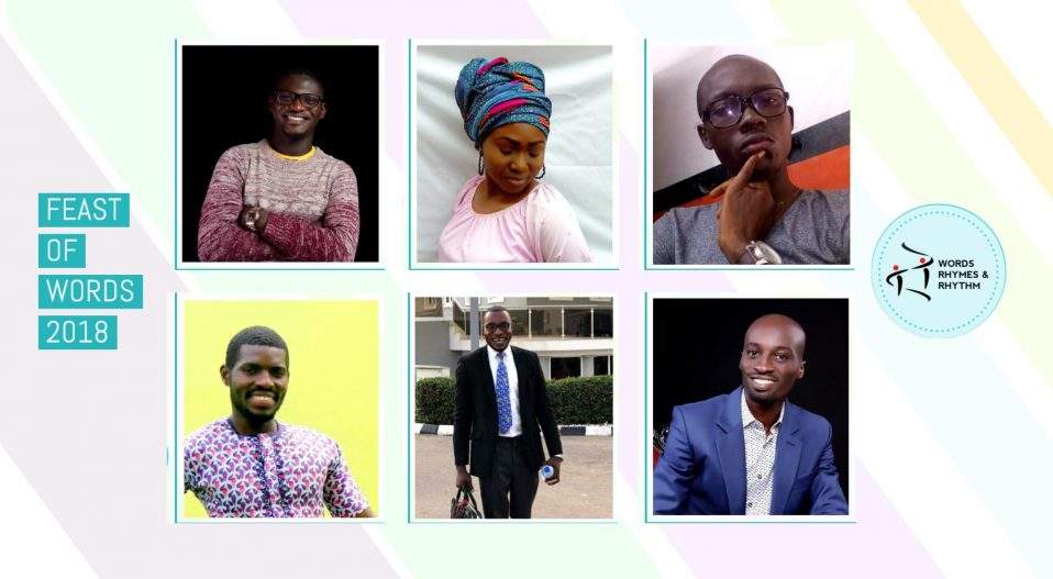 IQUO, OPPONG, EZE, AGARAU, BADMUS & MADUWUBA: 6 WRITERS FOR FOW 2018