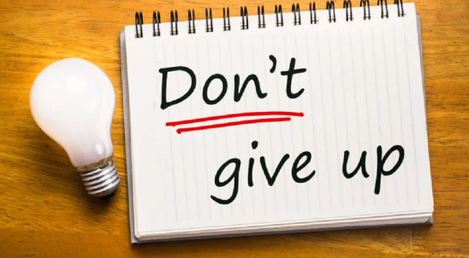 YOU DON'T GIVE UP! (a poem by Samson Iroko)