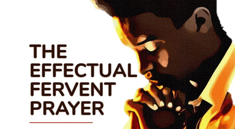 ADENIYI'S 'THE EFFECTUAL, FERVENT PRAYER' IS PURPOSEFUL, NOT PATRONISING & FOR THOSE WILLING TO TREAD THE PATH OF RIGHTEOUSNESS